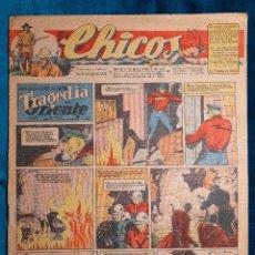 Tebeos: CHICOS Nº378.CONSUELO GIL. AÑO.1946. Lote 268459824