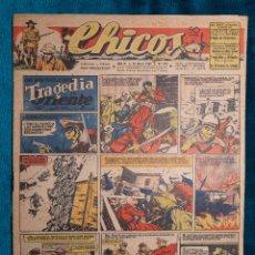 Tebeos: CHICOS Nº379.CONSUELO GIL. AÑO.1946. Lote 268459894