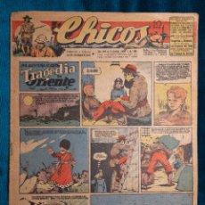 Tebeos: CHICOS Nº389.CONSUELO GIL. AÑO.1946. Lote 268459954