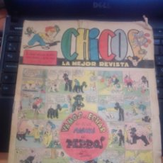 Tebeos: CHICOS Nº 532. AÑO XII, 1 MAYO 1949. Lote 271605388