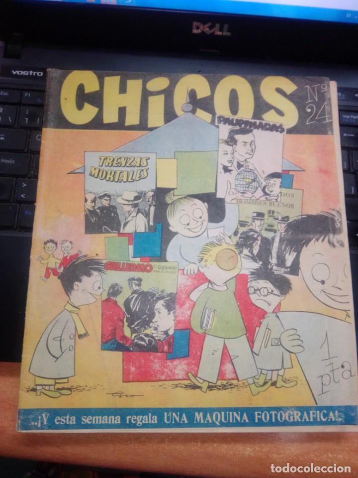 MIS CHICOS Nº24, EDITORIAL CONSUELO GIL (Tebeos y Comics - Consuelo Gil)
