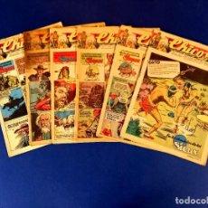 Livros de Banda Desenhada: LOTE DE 6 CHICOS NUMEROS: 386-387-388-391-393-396. Lote 273899123