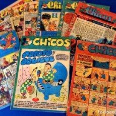 Livros de Banda Desenhada: LOTE DE 9 CHICOS NUMEROS: 485-488-489-492-507-508-513-531-557. Lote 273900288