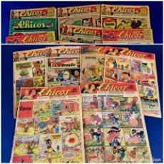 Livros de Banda Desenhada: LOTE DE 14 CHICOS -VER NUMERACION. Lote 273900548
