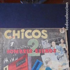Tebeos: CHICOS Nº 31 /C-3. Lote 275486623