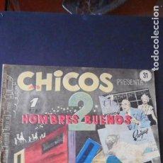 Tebeos: CHICOS Nº 31 /C-3. Lote 275486758