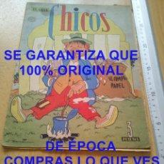 Tebeos: EL GRAN CHICOS 42 1949 3 PESETAS ALGUNA HOJA SUELTA TEBEO U57. Lote 278486473