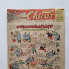 Tebeos: CHICOS Nº 420 AÑO 1947 CONSUELO GIL SAN SEBASTIAN RV. Lote 279413023