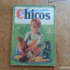Tebeos: CHICOS ALMANAQUE 1946 ORIGINAL EDITA CONSUELO GIL. Lote 288373283