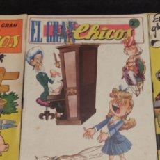 Giornalini: ANTIGUO TEBEO EL GRAN CHICOS Nº 16 , CONSUELO GIL ,1947, VER FOTOS. Lote 292261363