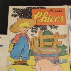 Giornalini: ANTIGUO TEBEO EL GRAN CHICOS Nº 15 , CONSUELO GIL ,1947, VER FOTOS. Lote 292261498