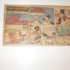Tebeos: MIS CHICAS 34.NUMEROS DIFICILES,DIFERENTE FORMATO.EDITA CONSUELO GIL,AÑO 1941.. Lote 294153583