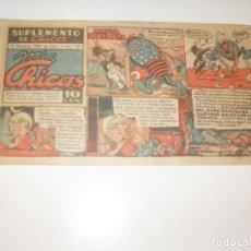 Tebeos: MIS CHICAS 27.NUMEROS DIFICILES,DIFERENTE FORMATO.EDITA CONSUELO GIL,AÑO 1941.. Lote 294153858