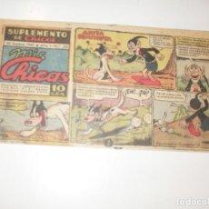 Tebeos: MIS CHICAS 20.NUMEROS DIFICILES,DIFERENTE FORMATO.EDITA CONSUELO GIL,AÑO 1941.. Lote 294154063