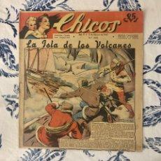 Tebeos: CHICOS, NUMERO 200, AÑO 1942, (GILSA/EDICIONES CHICOS). Lote 294387548