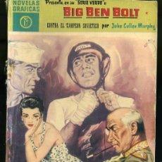 Tebeos: NOVELAS GRAFICAS - BIG BEN BOLT CONTRA EL CAMPEON SOVIETICO POR JOHN CULLEN MURPHY ,EDIT. DOLAR 1959. Lote 20861001