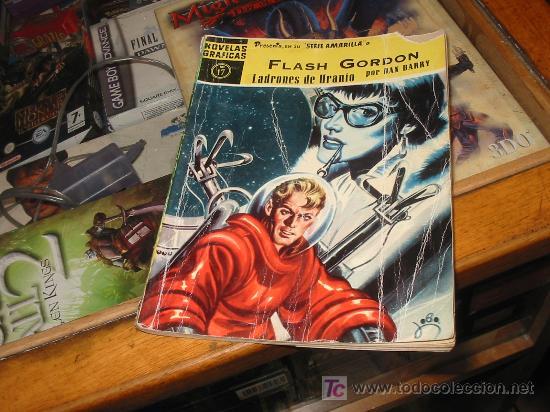 SERIE AMARILLA N-17,FLASH GORDON,DOLAR AÑO 1958. (Tebeos y Comics - Dólar)
