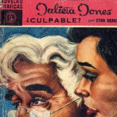 Tebeos: JULIETA JONES Nº 11 (EDITORIAL DÓLAR, 1959) STAN DRAKE. Lote 17276084