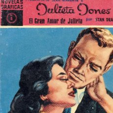 Tebeos: JULIETA JONES Nº8 (EDITORIAL DÓLAR, 1959) STAN DRAKE. Lote 17276055