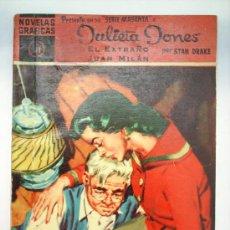 Tebeos: NOVELAS GRAFICAS -JULIETA JONES-N.11-SERIE MAGENTA -EDIT. DOLAR. Lote 22303390