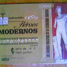 Tebeos: FLASH GORDON COLECCIÓN HEROES MODERNOS, Nº 9 DE DOLAR. Lote 11560086