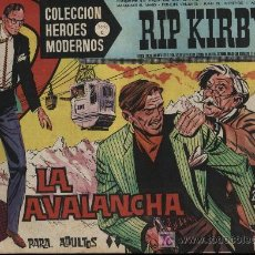 Tebeos: RIP KIRBY. HÉROES MODERNOS. SERIE C Nº 16. Lote 18455035
