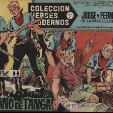 Tebeos: JORGE Y FERNANDO. HÉROES MODERNOS. SERIE C Nº 18. Lote 18167354