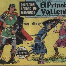 Tebeos: EL PRINCIPE VALIENTE, HÉROES MODERNOS. SERIE C Nº 13. Lote 18181105