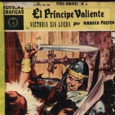Tebeos: EL PRINCIPE VALIENTE. DOLAR. SERIE AMARILLA. Nº 36. Lote 11479988