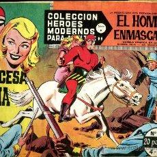 Livros de Banda Desenhada: EL HOMBRE ENMASCARADO - 64 - SERIE A - LA PRINCESA GWENA - EDITORIAL DOLAR - 1963-1964 APROX. . Lote 13809237