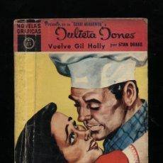 Tebeos: JULIETA JONES, SERIE MAGENTA Nº 13. DOLAR 1959.. Lote 14492507