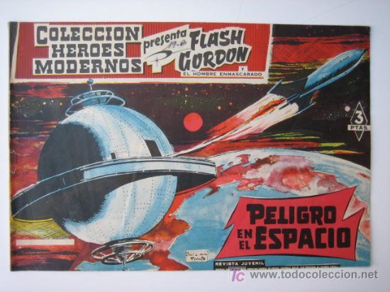 FLASH GORDON - COLECCION HEROES MODERNOS Nº 40 - EDITORIAL DOLAR (Tebeos y Comics - Dólar)