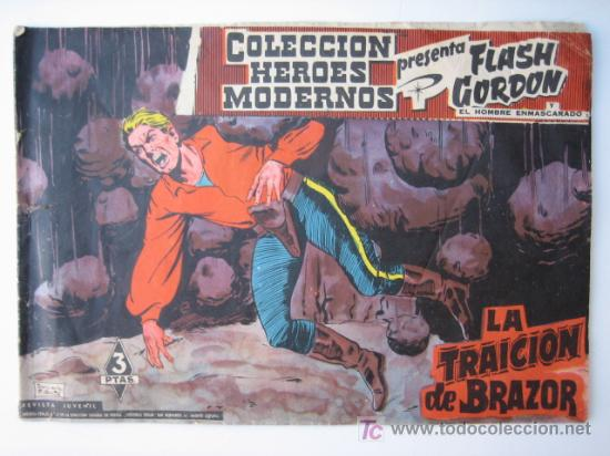 FLASH GORDON - COLECCION HEROES MODERNOS Nº 21 - EDITORIAL DOLAR (Tebeos y Comics - Dólar)