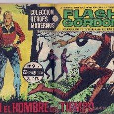 Tebeos: FLASH GORDON Nº 9-EGON EL HOMBRE DEL TIEMPO-EDITORIAL DOLAR.. Lote 23862431