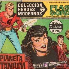 Tebeos: FLASH GORDON. COLECCION HEROES MODERNOS. SERIE B. Nº 22. EDITORIAL DOLAR.. Lote 17153588