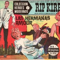 Tebeos: RIP KIRBY. COLECCION HEROES MODERNOS. SERIE C. Nº 5. EDITORIAL DOLAR.. Lote 17169362