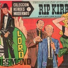 Tebeos: RIP KIRBY. COLECCION HEROES MODERNOS. SERIE C. Nº10. EDITORIAL DOLAR.. Lote 17169459