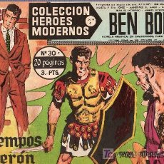 Tebeos: BEN BOLT. COLECCION HEROES MODERNOS. SERIE C. Nº 30. EDITORIAL DOLAR.. Lote 22310888