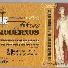 Tebeos: COLECCION HEROES MODERNOS. SERIE C. Nº 8. VARIOS PERSONAJES. EDITORIAL DOLAR. Lote 18049417