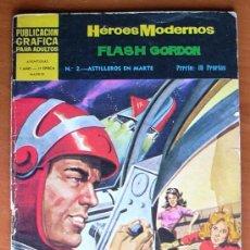 Tebeos: HÉROES MODERNOS 2ª ÉPOCA Nº 2 - EDITORIAL DÓLAR 1966. Lote 18269454
