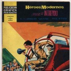 Tebeos: HÉROES MODERNOS 2ª EPOCA. DOLAR 1960. Nº 7.. Lote 18386081