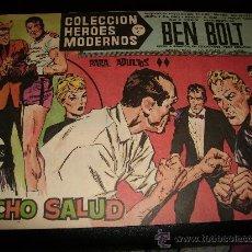 Tebeos: COLECCIÓN HÉROES MODERNOS . BEN BOLT . Nº 36 . SERIE C.1958.. Lote 26600570