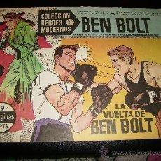 Tebeos: COLECCIÓN HÉROES MODERNOS . BEN BOLT . Nº 9 . SERIE C.1958.. Lote 26600571