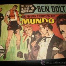 Tebeos: COLECCIÓN HÉROES MODERNOS . BEN BOLT . Nº 8 . SERIE C.1958.. Lote 26600572