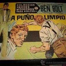Tebeos: COLECCIÓN HÉROES MODERNOS . BEN BOLT . Nº 43 . SERIE C.1958.. Lote 26600573