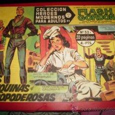 Tebeos: COLECCIÓN HÉROES MODERNOS . FLASH GORDON. Nº 52. SERIE B.1958.. Lote 27086092