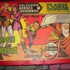 Tebeos: COLECCIÓN HÉROES MODERNOS . FLASH GORDON. Nº 30. SERIE B.1958.. Lote 27086086