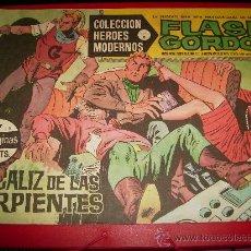 Tebeos: COLECCIÓN HÉROES MODERNOS . FLASH GORDON. Nº 7. SERIE B.1958.. Lote 27086091