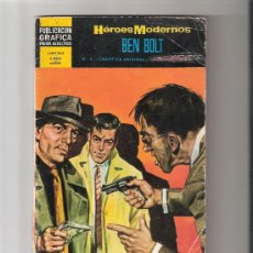 Giornalini: BEN BOLT Nº 5-HEROES MODERNOS II EPOCA-DOLAR AÑO 1966. Lote 19010959