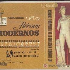 Tebeos: HEROES MODERNOS SERIE C Nº 8. BIBLIOTECA ETERNA. DOLAR.. Lote 19197144
